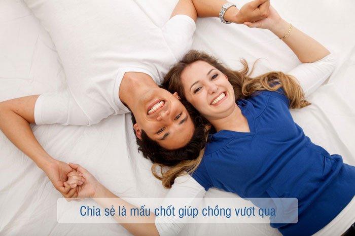 Chia sẻ là mấu chốt giúp vợ chồng thành công