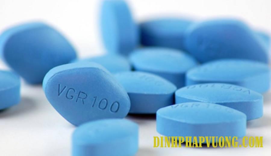 Hình ảnh viên thuốc Viagra 100