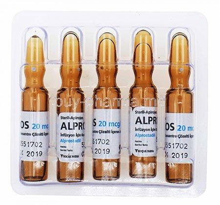 Hình ảnh thuốc tiêm Alprostadil