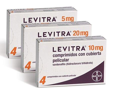 Hình ảnh hộp thuốc Levitra