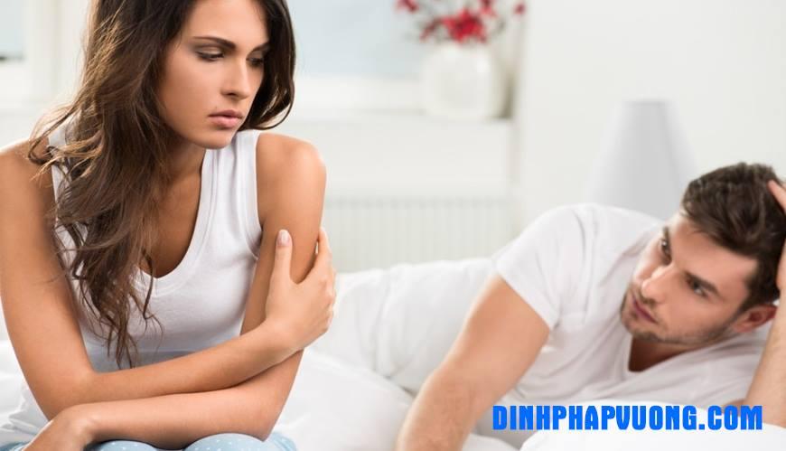 Rối loạn cương dương ảnh hưởng nghiêm trọng đến cuộc sống chăn gối vợ chồng