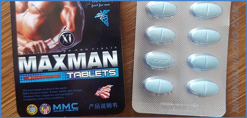 Vỉ thuốc MaxMan