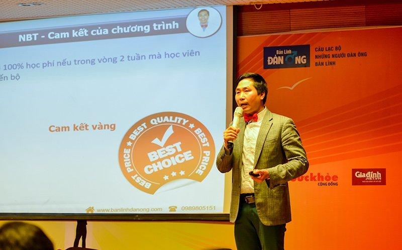 Chuyên gia Nguyễn Bá Toàn chia sẻ tại hội thảo