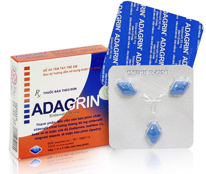 Hình ảnh hộp thuốc Adagrin