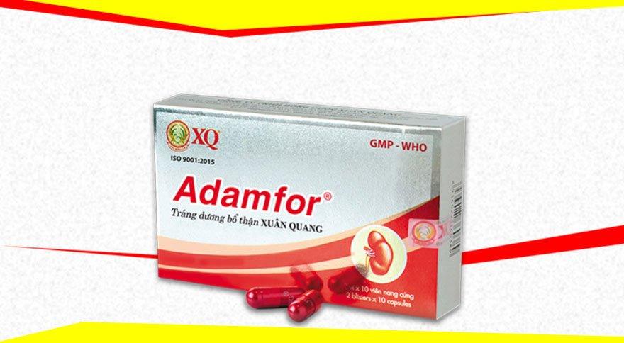 Hình ảnh hộp thuốc Adamfor