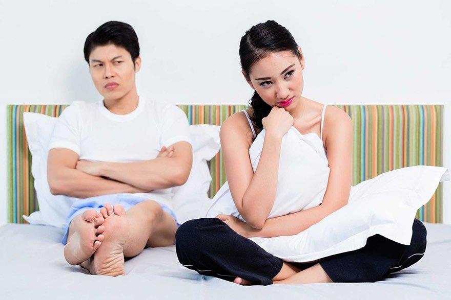 Ít quan hệ cũng khiến cho chuyện vợ chồng kém hạnh phúc