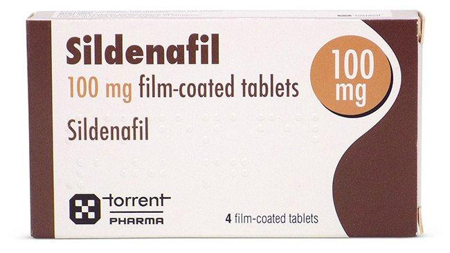Hình ảnh vỉ thuốc Sildenafil 10mg