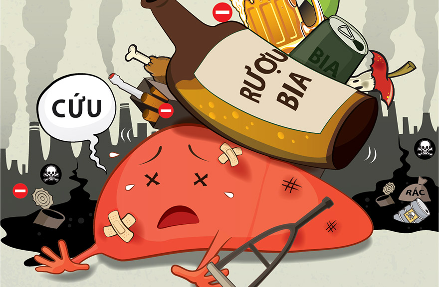 Bia rượu tác hại như thế nào?