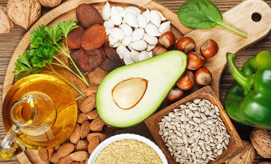 Vitamin e có nhiều trong các loại thực phẩm tự nhiên