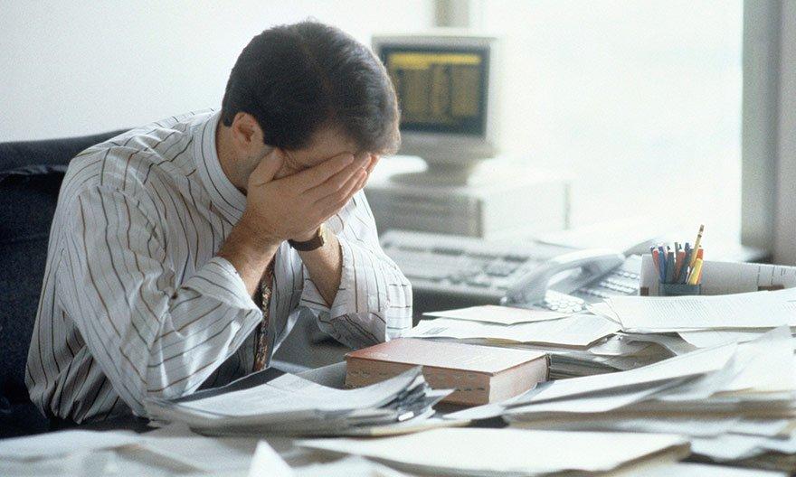 Công việc bị ảnh hưởng do mệt mỏii