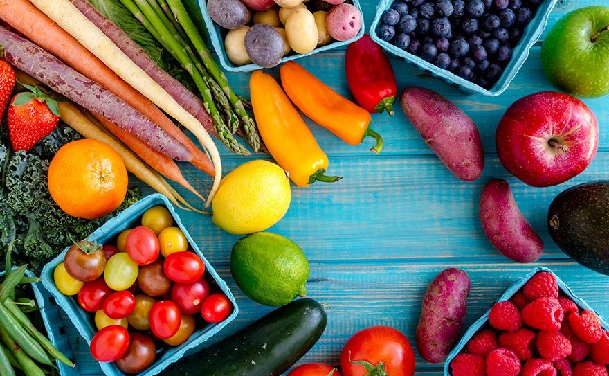 Chế độ ăn không thể quên rau củ quả