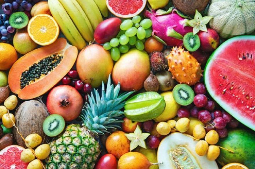 Trái cây là nguồn cung cấp chất khoáng và chất xơ rất tốt cho cơ thể