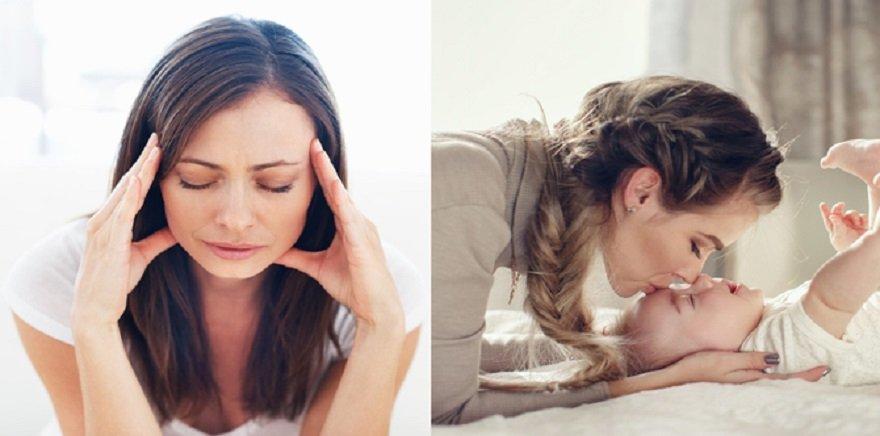 Da dẻ xanh xao, thần thái mệt mỏi là dấu hiệu của giai đoạn đầu thai kì